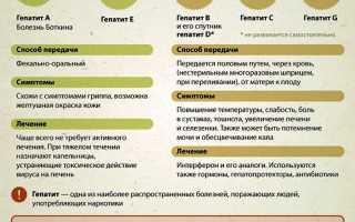Как проводится диагностика гепатитов разных типов