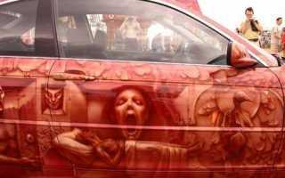 Кровь на моем автомобиле