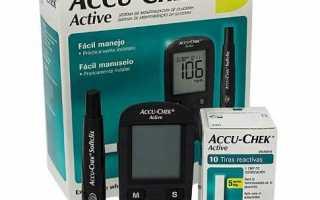 Способ измерения глюкозы в крови