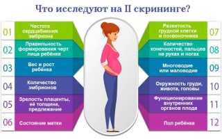 Когда и как делают скрининг 2-го триместра беременности: таблицы показателей нормы и болезни