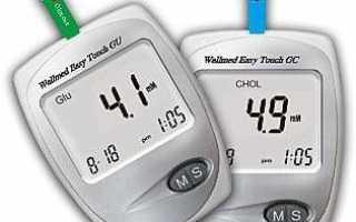 Домашний прибор для определения количества мочевой кислоты содержание в крови