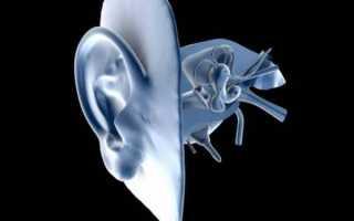 Кт уха