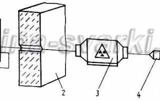 Радиографический метод контроля сварных соединений ч.1 контроль рентгеном